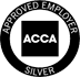 ACCA: Approved Employer logo